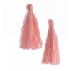Cotton Tassels (20pcs) 1In Rosewater